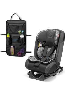 Kit De Cadeira Para Auto - De 0 A 36 Kg - All-Stages Fix - Cinza - Fisher-Price E Organizador Para Carrinho - Travel Bag - Multikids Baby