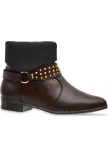 Bota Iod'S Ankle Boot Cafe
