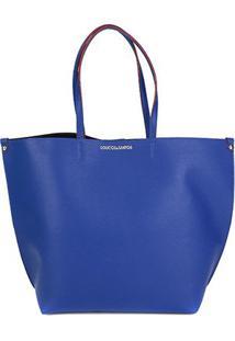 Bolsa Loucos & Santos Shopper Floater Soft Feminina - Feminino-Azul