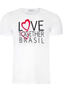 Camiseta Masculina - Branco