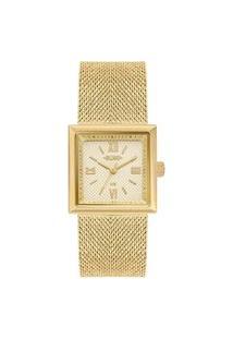 Relógio Euro Feminino Dourado Analógico Eu2036Yqi4D