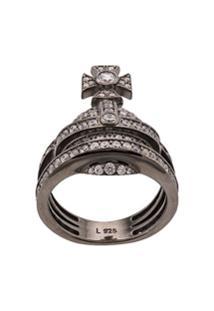 Vivienne Westwood Orb Ring - Prateado