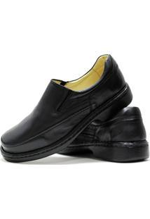 Sapato Sapataria Dos Pés Elástico Preto