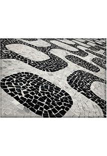 Jogo Americano Decorativo, Criativo E Descolado | Calçadão No Rio De Janeiro - Tamanho 30 X 40