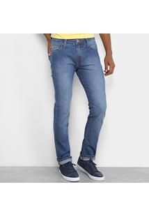 Calça Jeans Skinny Colcci Estonada Felipe Masculina - Masculino