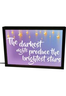 Luminária Prolab Gift Lightbox Brightest Stars Preta