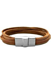 Pulseira Gafeno Bracelete Marrom