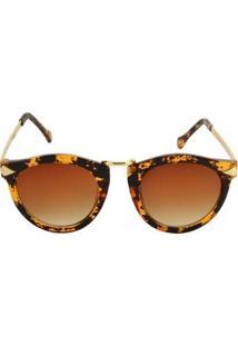 Óculos Ray Flector Piccadilly Circus Vgt512Co Feminino - Feminino-Dourado+Preto