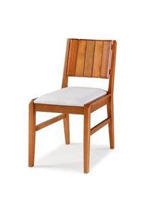 Cadeira Salvador Verniz Jatoba Estofada 43Cm - 40726 Preto