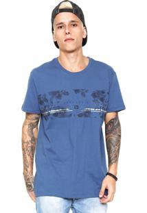 Camiseta Hang Loose Las Flores Azul