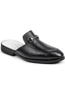 Sapato Mule Masculino Sandro Moscoloni Colection Preto