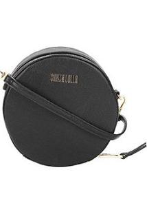 Bolsa Santa Lolla Mini Bag Risco Feminina - Feminino-Preto