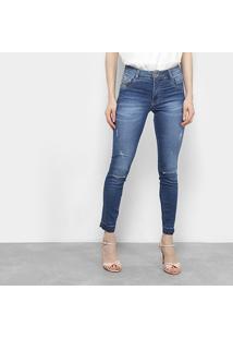 36a07dc7f ... Calça Jeans Skinny Biotipo Estonada Cintura Alta Feminina - Feminino