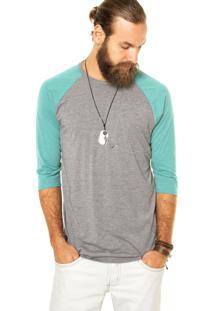 Camiseta Oakley Mod Old School Knit Cinza