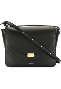 Wandler Tiered Crossbody Bag - Preto
