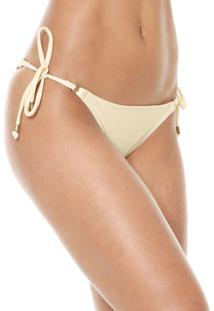 Calcinha Cia.Maritima String Lisa Off-White