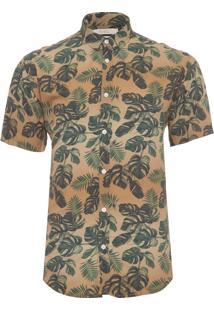 Camisa Masculina Californiadao - Bege