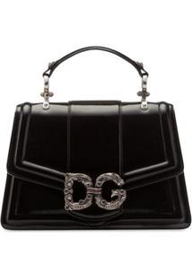 Dolce & Gabbana Bolsa Tote Dg Amore - Preto