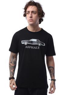 Camiseta Asphalt All Black Masculina - Masculino