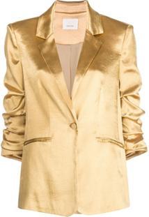 Cinq A Sept Blazer Kylie - Dourado