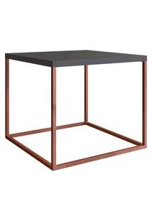 Mesa Para Sala De Estar Artesano Cube M 38Cm Manhattan