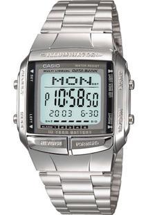 Relógio Casio Vintage Db-360-1Adf - Feminino-Prata