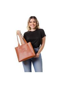 Bolsa Feminina Alice Monteiro Dubai - Caramelo