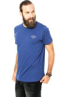 Camiseta Colcci Reta Azul