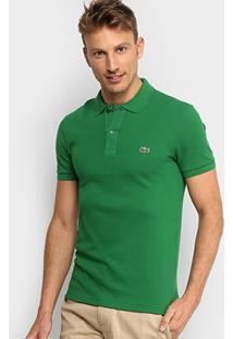 f38ccbf55f450 ... Camisa Polo Lacoste Piquet Slim Fit Masculina - Masculino