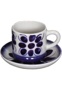 Xícara Grande EPires Modelo Colonial -Porcelana Monte Sião