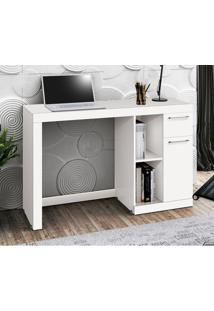Mesa Para Computador Office Doris - Edn Móveis - Branco