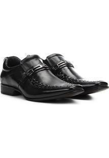 Sapato Social Rafarillo Las Vegas Masculino - Masculino-Preto