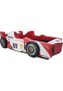 Cama Carro F1 Shock Vermelho