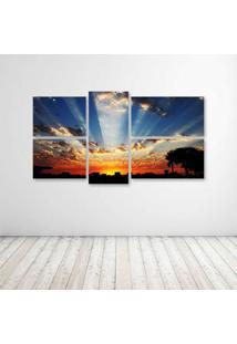 Quadro Decorativo - Sunrise - Composto De 5 Quadros - Multicolorido - Dafiti