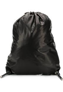 Rick Owens Drawstring Backpack - Preto