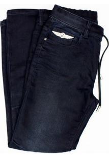 7e927a6be Zattini. Calça Feminina Preta Jeans Elástico Cyclone Ellus Feminino-Preto  Elastic Floor - Second 20sa494