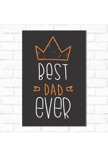 Placa Decorativa Best Dad
