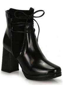 Ankle Boots Bruna Rocha Preto