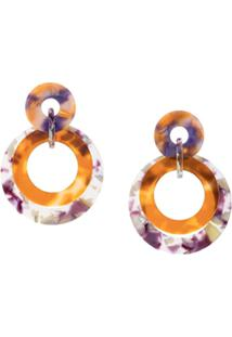 Lele Sadoughi Marble Drop Earrings - Estampado