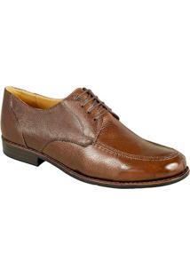 Sapato Social Masculino Derby Sandro Moscoloni Wayne Marrom