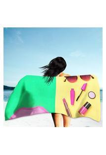 Toalha De Praia / Banho Cosmetic Minimal Único