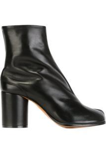 Maison Margiela 'Tabi' Ankle Boots - Preto