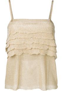 Missoni Blusa Clássica - Dourado