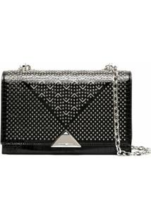 Emporio Armani Studded Shoulder Bag - Preto