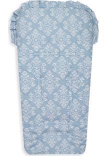 Capa De Carrinho Laura Baby Provençal Azul