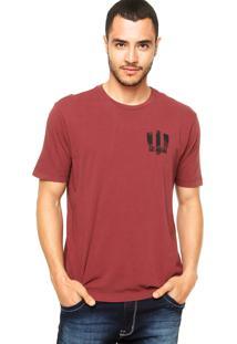 Camiseta Vila Romana Logo Vinho