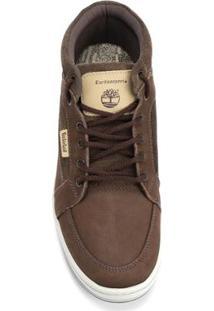 Sapatênis Timberland Ek Packer Leather Chukka M Os - Masculino-Marrom
