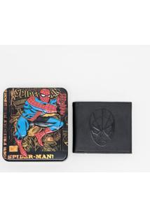 Carteira Masculina Homem Aranha