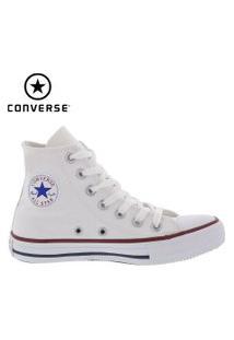 Tênis Converse Feminino All Star Cano Alto Lona Branco