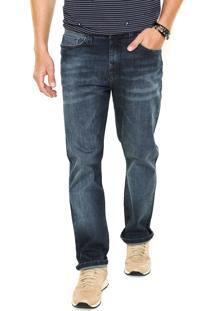 Calça Jeans Hering Tradicional Lisa Azul